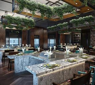 全面的餐厅设计