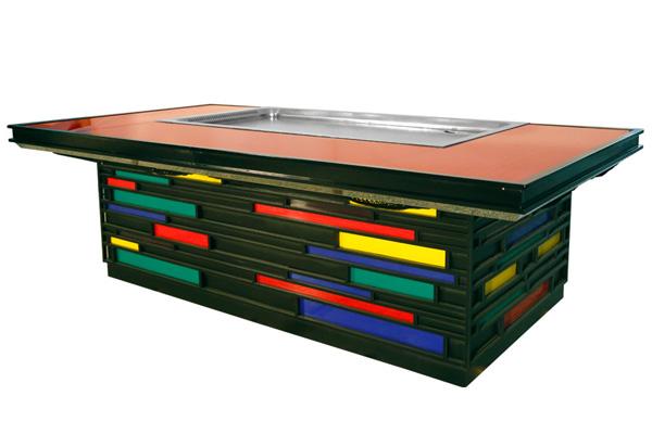 上排放铁板烧设备