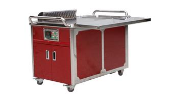 新型移动铁板烧设备